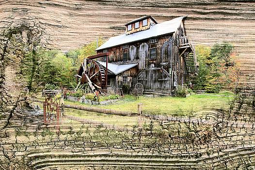 James Steele - Wooden Water Mill