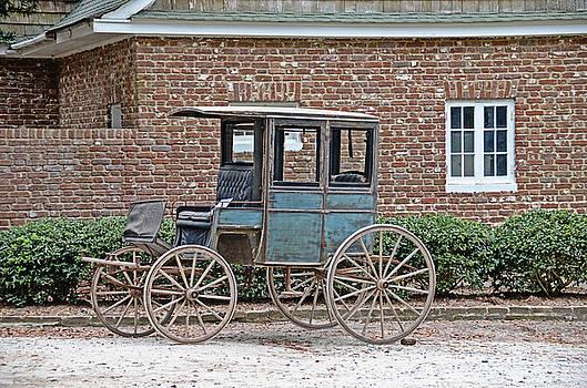 Wooden Wheels by Linda Brown