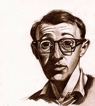 Woody Allen by Dallas Roquemore