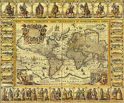 Photo Researchers - World Map 1626