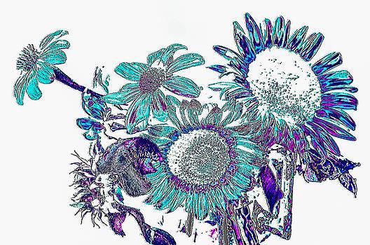 World of sunflowers by Gerald Kloss