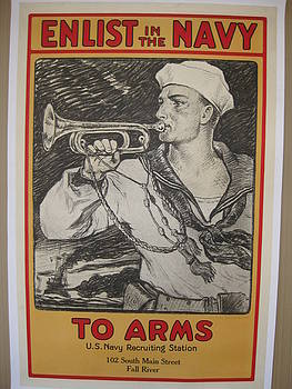 World War I poster by Milton Herbert Bancroft