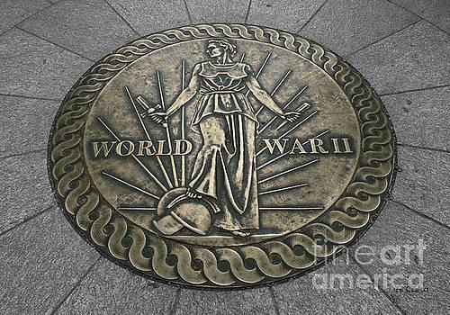 World War II Marker by E B Schmidt