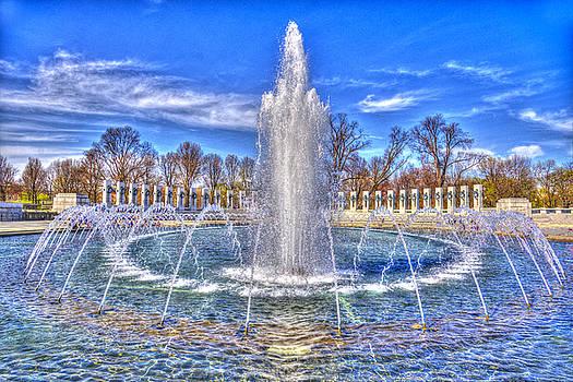 World War II Memorial by Paul Wear