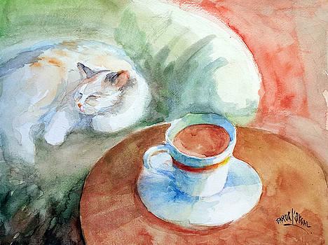 Would You Like Some Milk Too ?... by Faruk Koksal