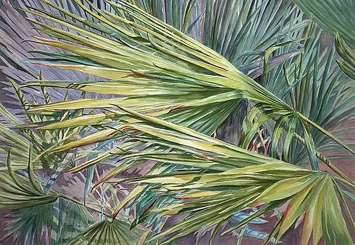Woven Fronds by Roxanne Tobaison