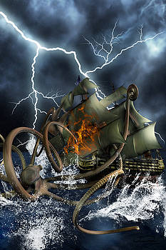 Wrath Of Kraken by Emma Alvarez