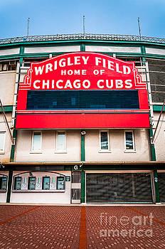 Paul Velgos - Wrigley Field Sign Photo