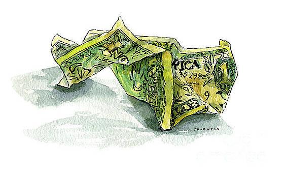 Wrinkled Dollar by Diane Thornton