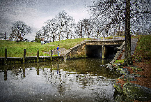 Wye Mills Fishing by Brian Wallace