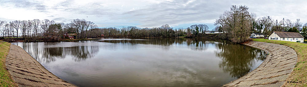 Wye Mills Lake - Pano by Brian Wallace