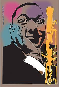 Wynton Marsalis by Michael Chatman