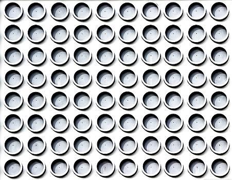 Wynwood Circles Wall - Abstract by Chrystyne Novack