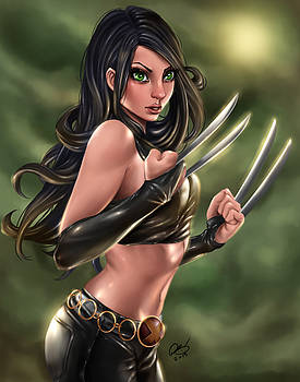 X-23 Razors Edge by Pete Tapang