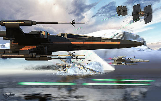 X-Wing Full Throttle V2 by Kurt Miller