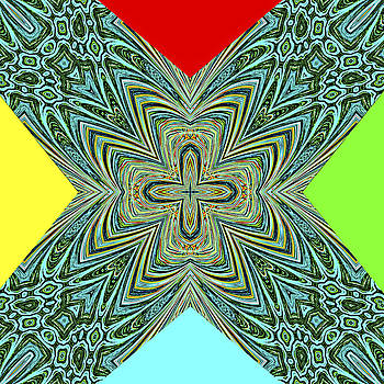 X with Colors by Susan Leggett