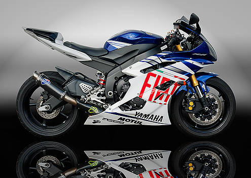 Yamaha Rossi rep by Carl Shellis