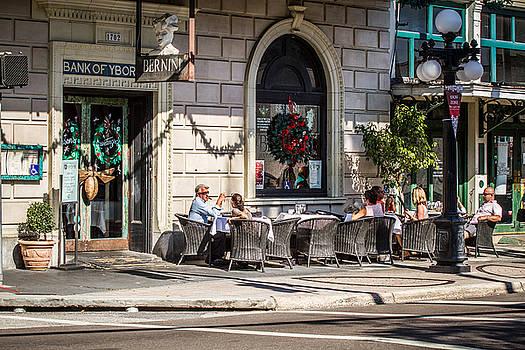 Ybor City Street Shot by Toni Thomas