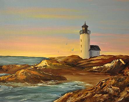 Ye Olde Lighthouse by James Higgins