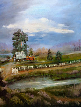 Ye Ole Barn by Arlen Avernian Thorensen