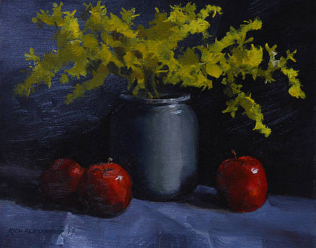 Yellow and Red in Bold  by Rich Alexander