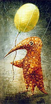 Yellow Balloon by Lolita Bronzini