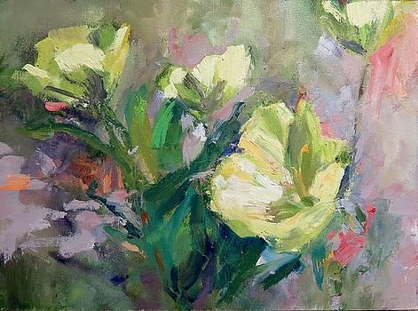 Yellow California Poppies by Carol Hopper