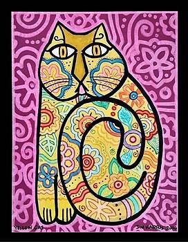 Yellow Cat by Jim Harris