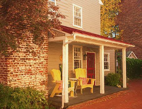 Mick Burkey - Yellow Chairs
