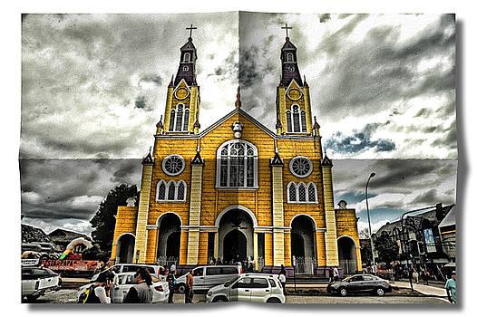 Yellow Church by Richard Gehlbach