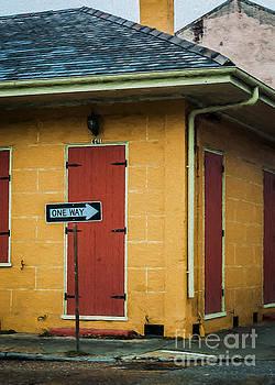Kathleen K Parker - Yellow Cottage French Quarter- NOLA