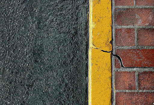 Yellow Curb by Dan Holm