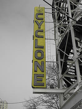 Yellow Cyclone by Peter Aiello