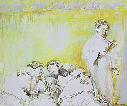Yellow Dream by Tanya Ilyakhova