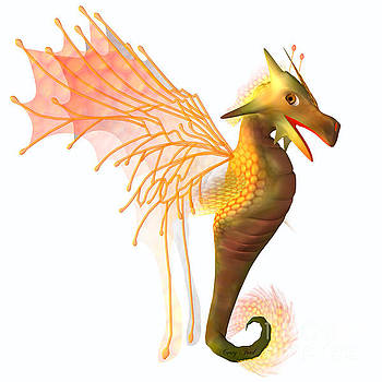 Corey Ford - Yellow Faerie Dragon