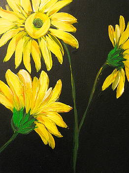 Yellow Floral by Kathleen Othon
