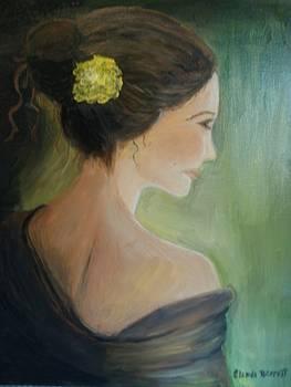 Yellow Flower by Glenda Barrett