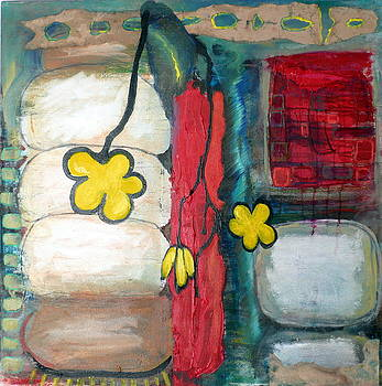 Yellow Flowers by Jane Clatworthy