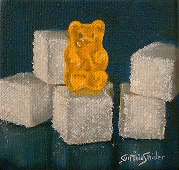 Yellow Gummy Bear by Cynthia Snider