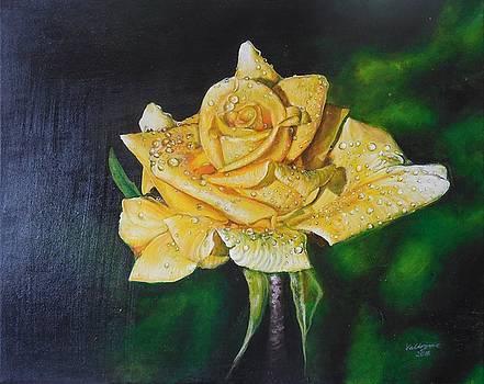 Yellow Rose by Valdengrave Okumu