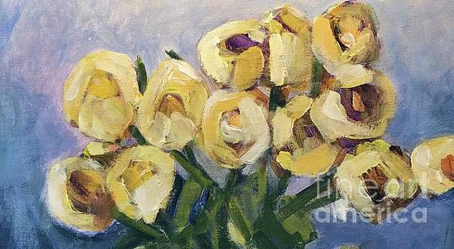 Yellow Roses 2 by Sherry Harradence