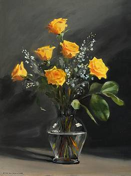 Yellow Roses by Rich Alexander