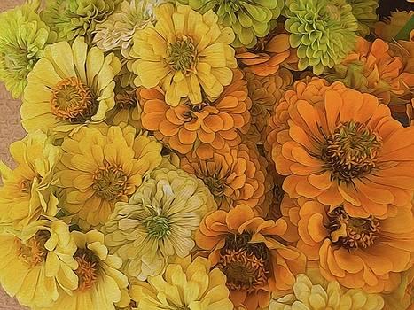 Cindy Boyd - Yellow Zinnias