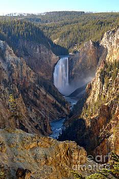 Adam Jewell - Yellowstone Falls Portrait