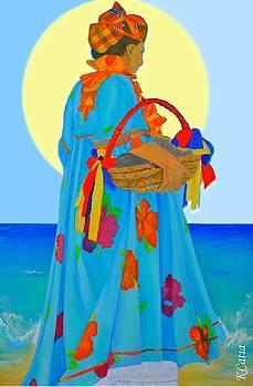 Yemoja s Offerings by Katia Creole Art