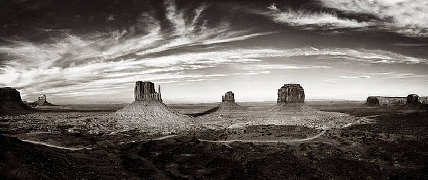 Yesteryear Monument Valley by Andrew Soundarajan