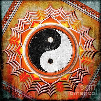 Yin Yang -  The healing of the orange chakra by Dirk Czarnota