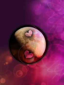 Ying Yang Hearts by Amanda Eberly-Kudamik