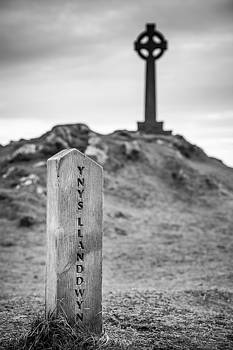 Ynys Llanddwyn Black and White by Christine Smart