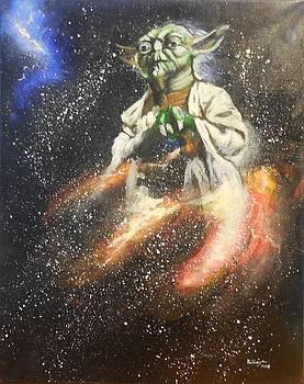 Yoda Star Wars Painting by Valdengrave Okumu